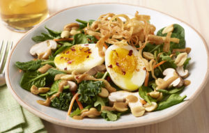 Bird nest salad
